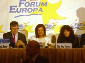 ADLYPSE presente en el Fórum Europa con el Comisario Europeo de Empleo, Asuntos Sociales e Inclusión