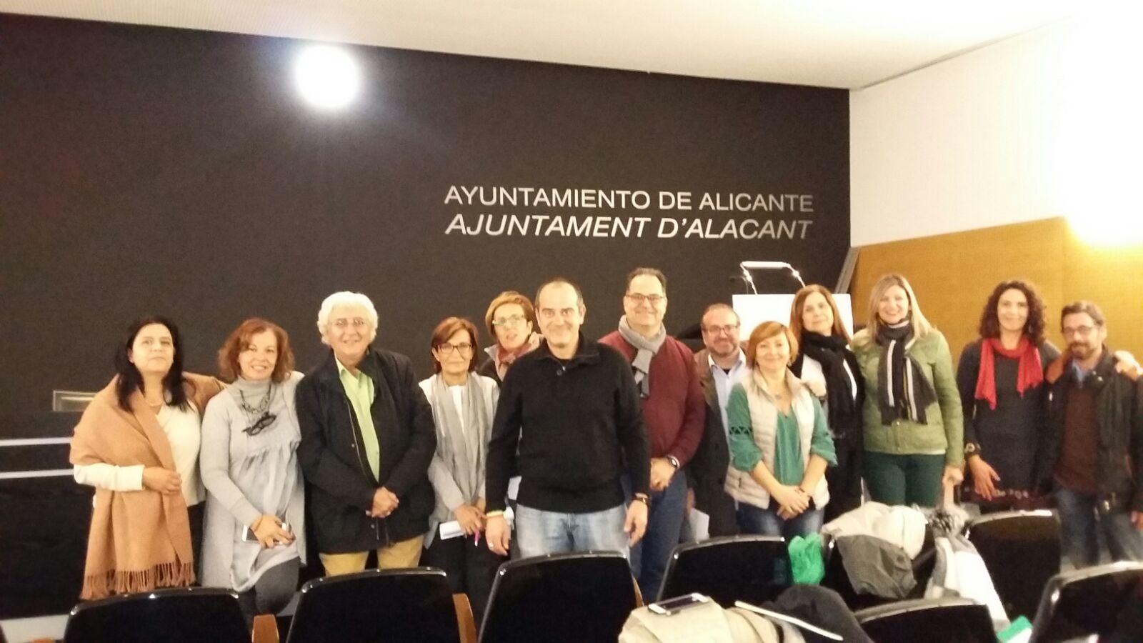 Foto de la Junta Directiva de ADLYPSE Alicante