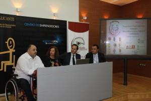foto de la presentación del acto de DI EMPRENDO dia 18 de junio de 2013