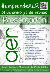 cartel Jornada Emprend AER 1feb14