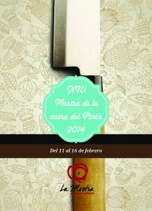 <Mostra Cuina Pinos> XIV Jornadas Gastronómicas de Pinoso
