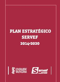 Portada Plan Estratégico SERVEF 2014-2020
