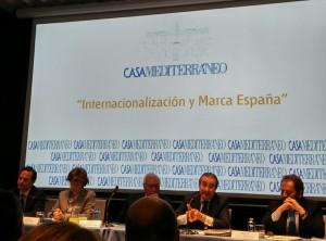 Mesa redonda de la Jornada Internacionalización y Marca España