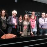 Compañeros de Adlypse Alicante durante la Asamblea 2015
