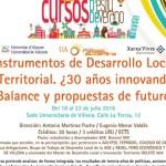 INSTRUMENTOS DE DESARROLLO LOCAL Y TERRITORIAL ¿30 años innovando? Balance y propuestas de futuro