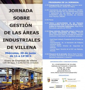 areas industriales villena