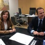 Firma del convenio con la Agencia de Desarrollo Local del Ayuntamiento de Alicante