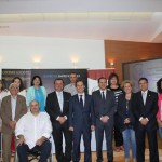 Foto con todos los representantes de las entidades locales participantes