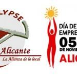 Cartel para el Día de la Persona Emprendedora de Alicante 2013
