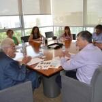 Reunión Conseller Rafa Climent y Fed. ADLYPSE